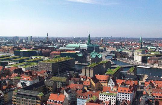 """Copenhague hace obligatorios los techos """"verdes"""""""
