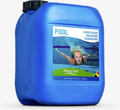 Desinfectante para piscinas sanas a base de peróxido de hidrógeno